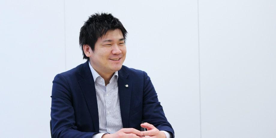 DX戦略部の創設メンバー 川⼝真範さん