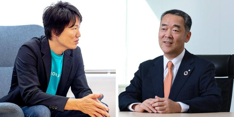 東京センチュリーDX戦略部を統括する専務執⾏役員 の吉野康司が、ソラコム代表取締役社⻑の⽟川憲⽒にお話を伺いました。