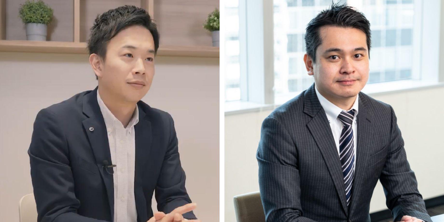 ヤマト運輸株式会社 川野さま(左)/ ハローライト株式会社 代表取締役 鳥居さま(右)
